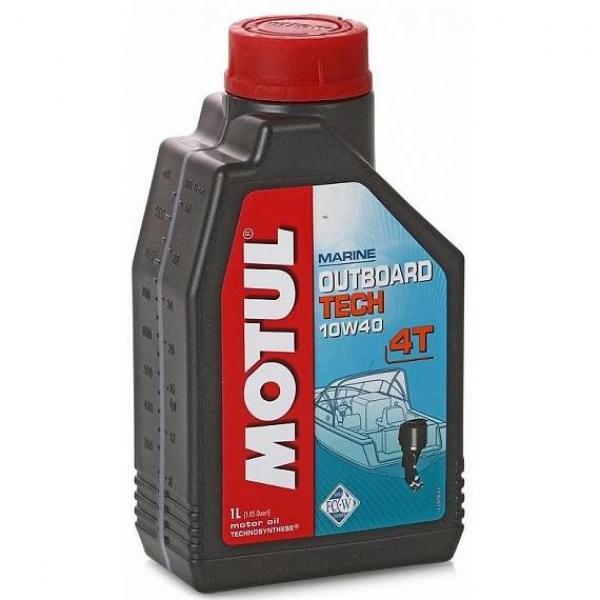Масло Motul Outboard Tech 4T 10W40  (1л)