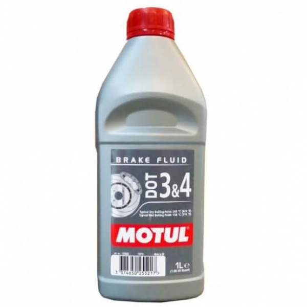 Тормозная жидкость MOTUL DOT 3 & 4 Brake Fluid (1л)