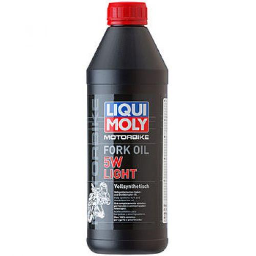 Синтетическое масло для вилок и амортизаторов Motorbike Fork Oil Light 5W